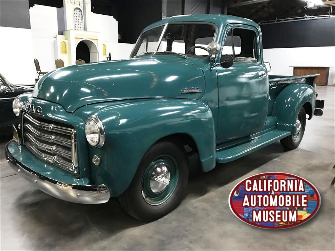 Large Picture of 1952 GMC 100 located in California Offered by California Automobile Museum - PNQX