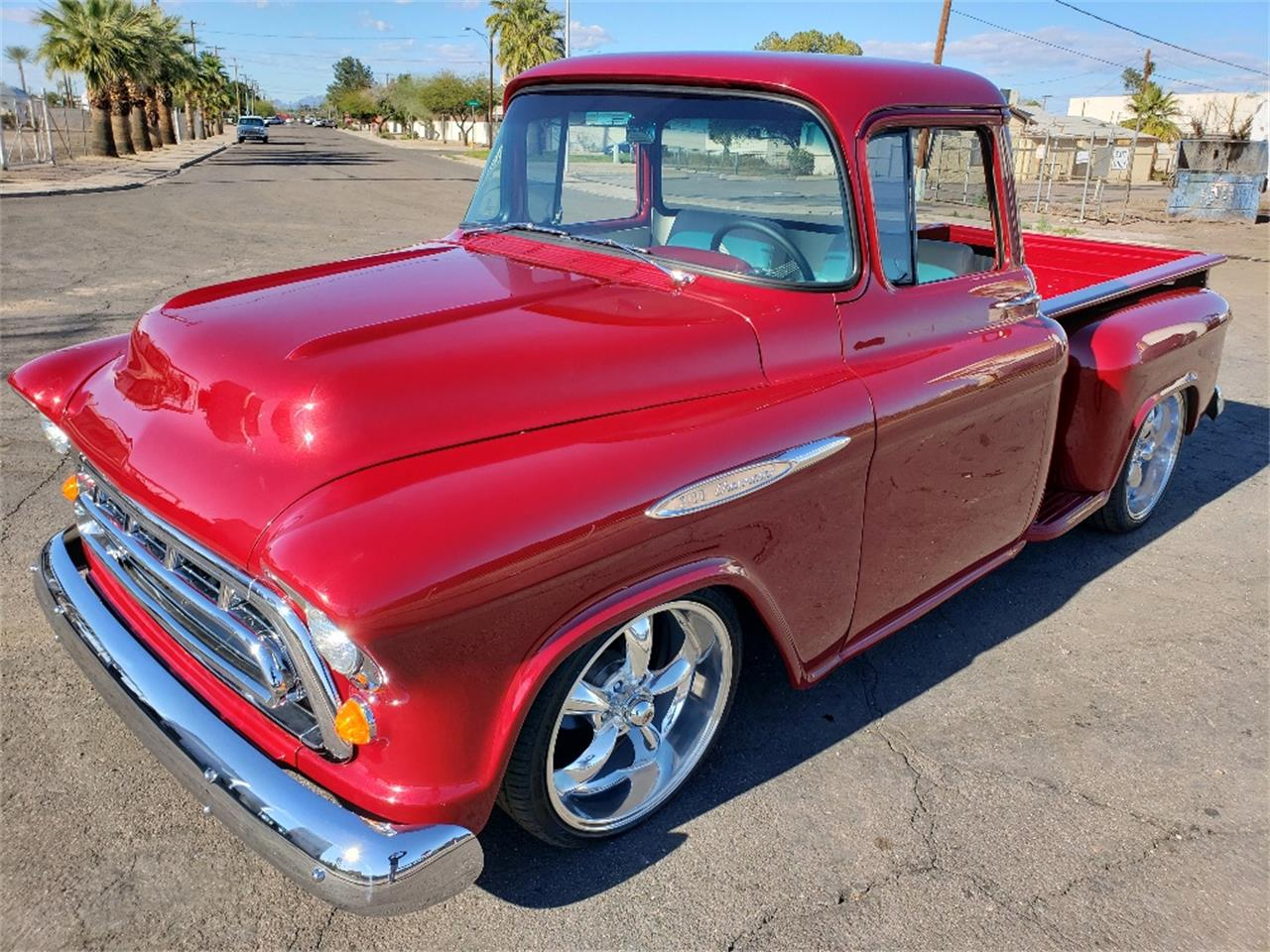 Large Picture of 1957 3100 located in Mesa Arizona - $44,000.00 Offered by Classic Corner Garage - PNR2