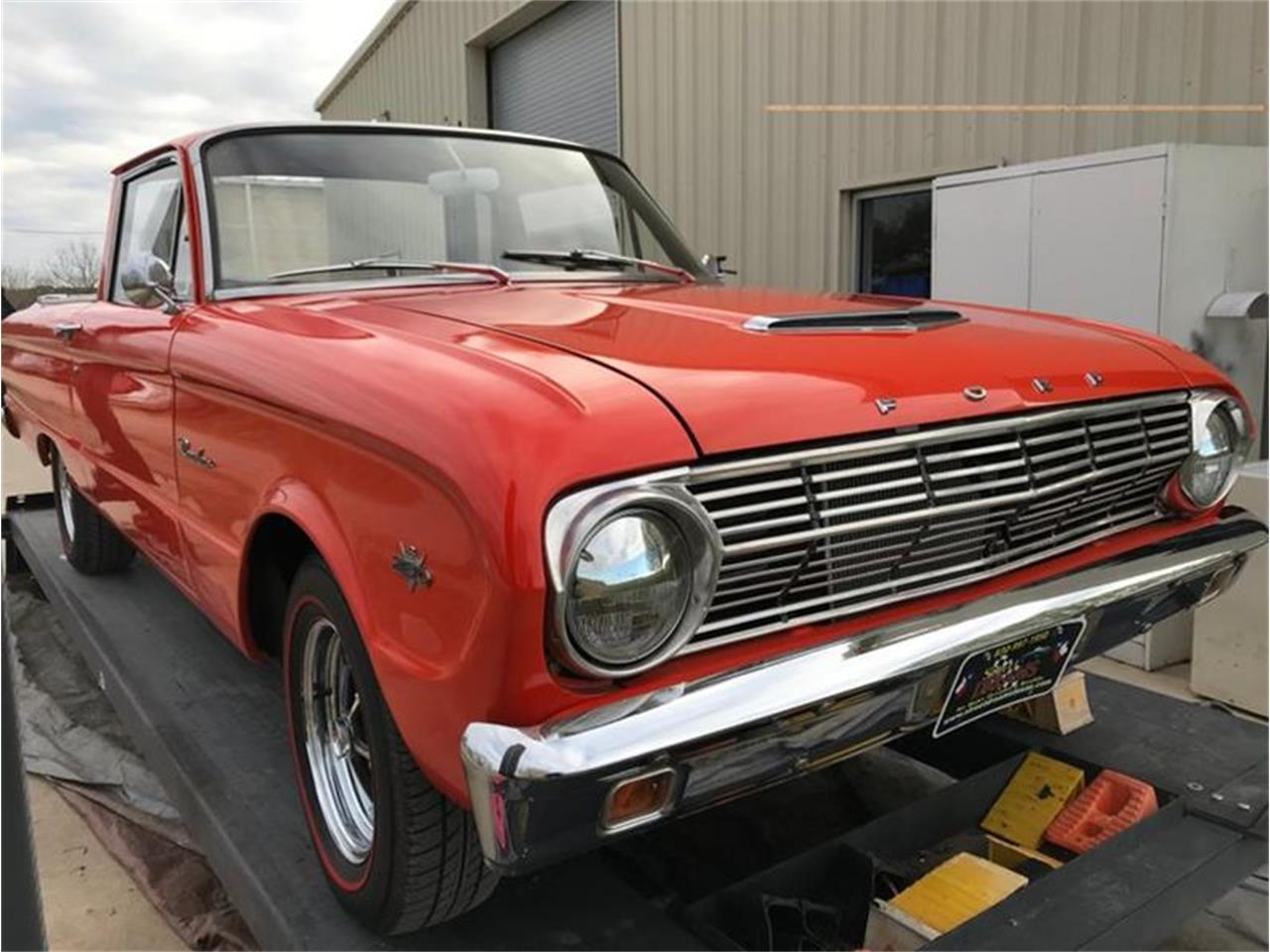Large Picture of Classic 1963 Ford Ranchero Offered by Street Dreams Texas - PNTM