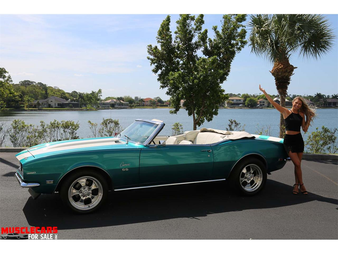 Large Picture of 1968 Camaro SS located in Fort Myers Florida - PNWZ