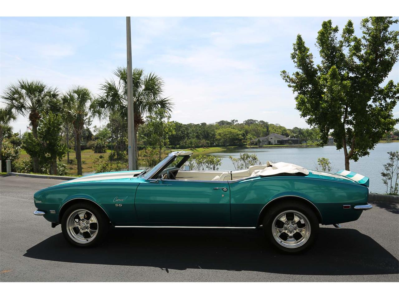 Large Picture of 1968 Chevrolet Camaro SS located in Fort Myers Florida - $37,500.00 Offered by Muscle Cars For Sale Inc. - PNWZ