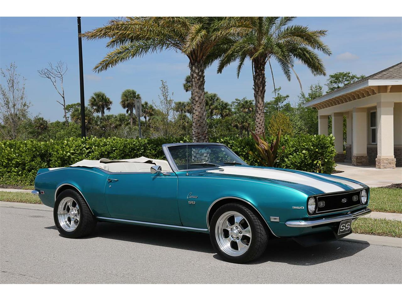 Large Picture of Classic '68 Camaro SS located in Fort Myers Florida Offered by Muscle Cars For Sale Inc. - PNWZ
