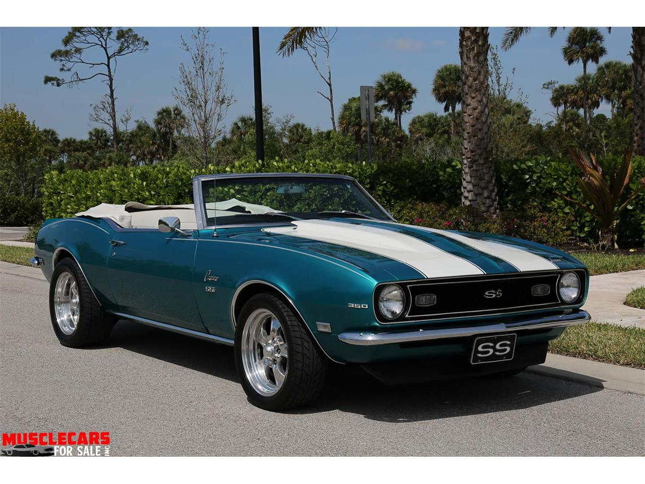 Large Picture of Classic 1968 Chevrolet Camaro SS located in Fort Myers Florida - $37,500.00 Offered by Muscle Cars For Sale Inc. - PNWZ