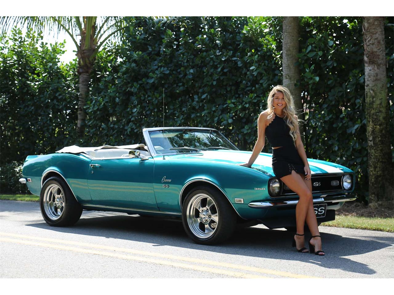 Large Picture of 1968 Camaro SS located in Fort Myers Florida Offered by Muscle Cars For Sale Inc. - PNWZ