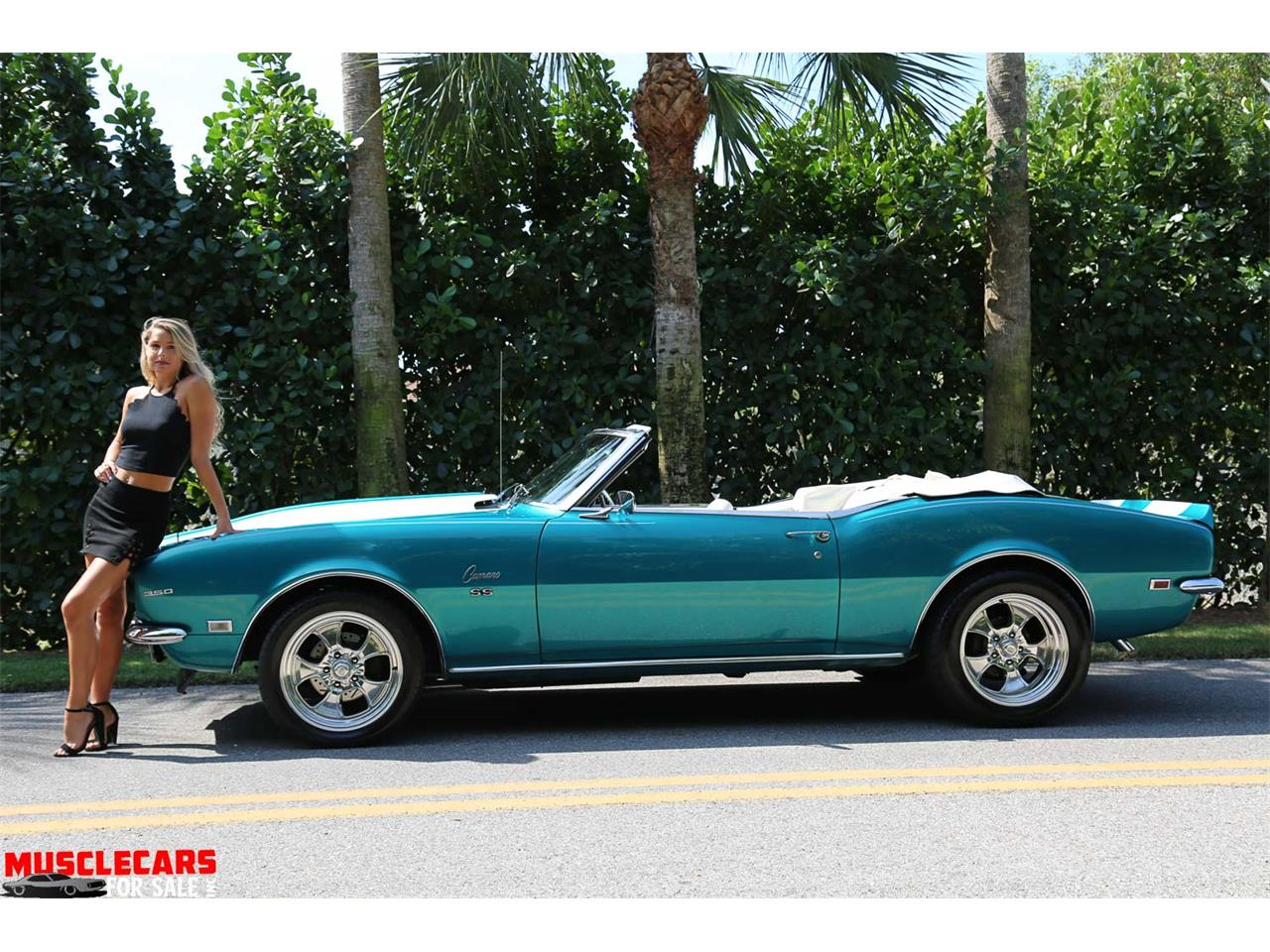 Large Picture of Classic '68 Camaro SS located in Florida Offered by Muscle Cars For Sale Inc. - PNWZ