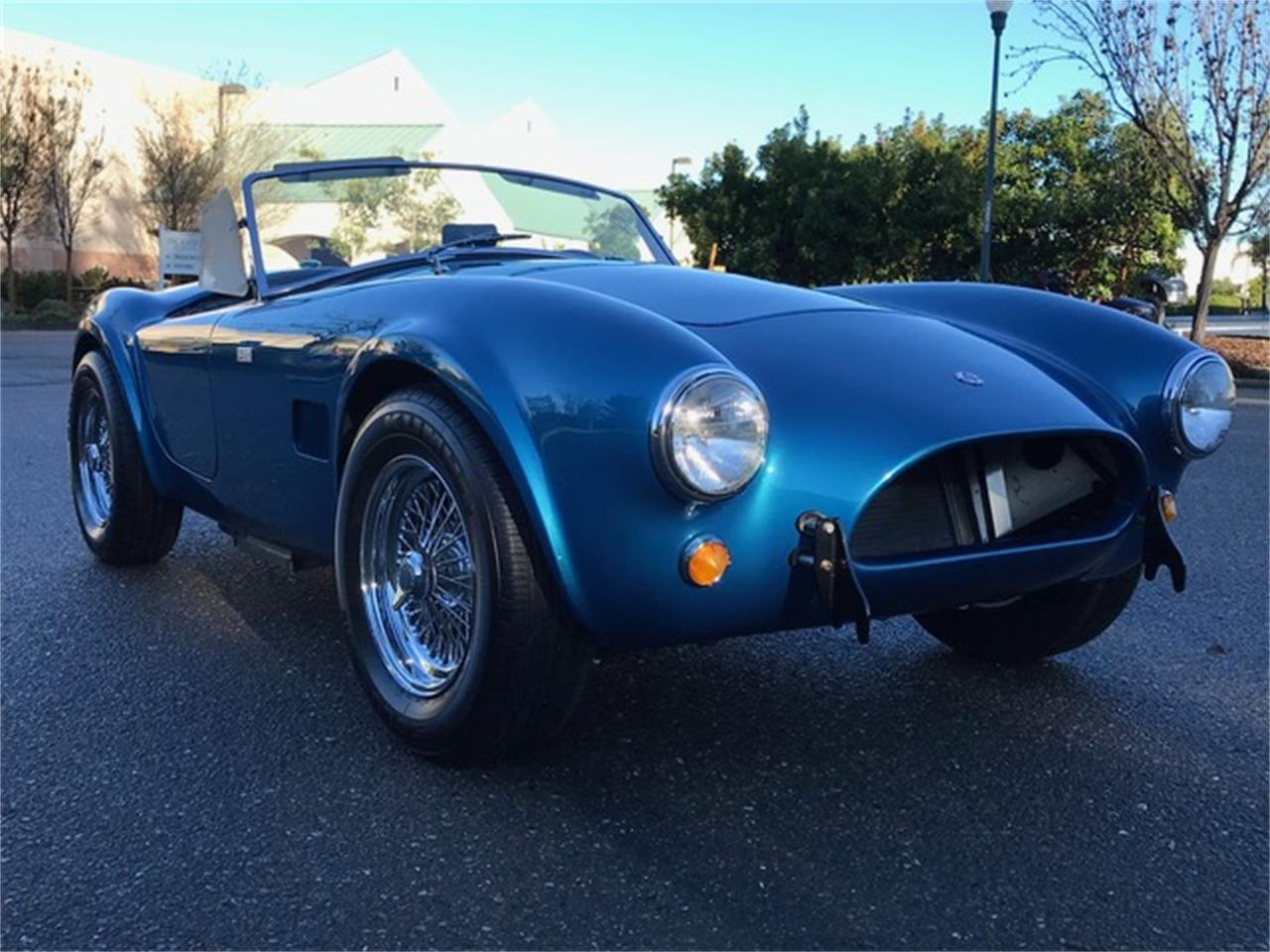 For Sale: 1963 Shelby Cobra in Napa Valley, California