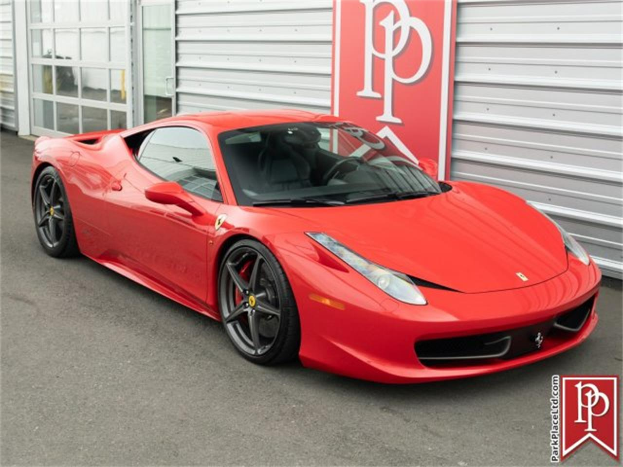 Large Picture of '15 Ferrari 458 located in Bellevue Washington Offered by Park Place Ltd - PO5X