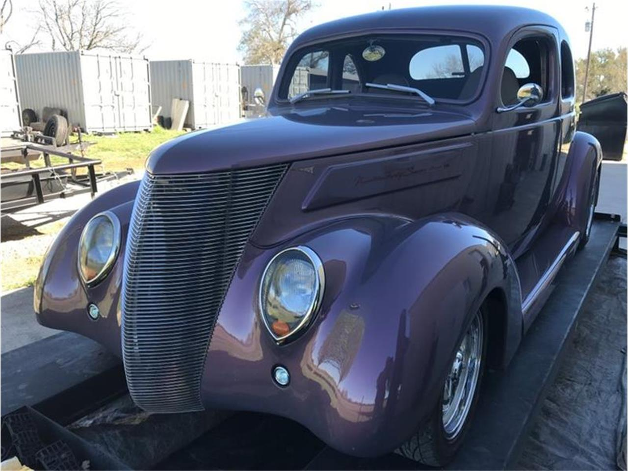 Large Picture of Classic 1937 Ford Coupe located in Fredericksburg Texas Offered by Street Dreams Texas - PO6E