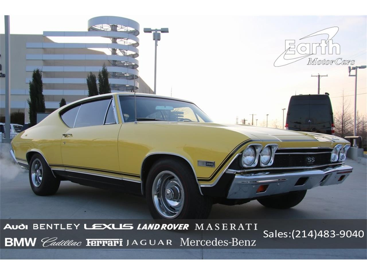 Large Picture of '68 Chevrolet Chevelle SS located in Texas Offered by Earth Motorcars - PO89