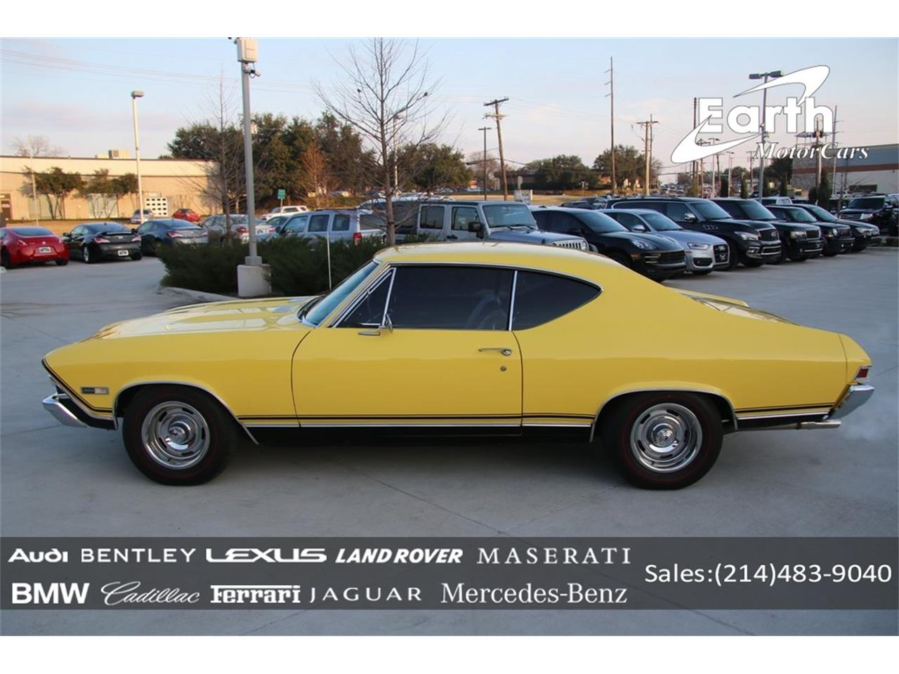 Large Picture of '68 Chevrolet Chevelle SS - $57,990.00 Offered by Earth Motorcars - PO89
