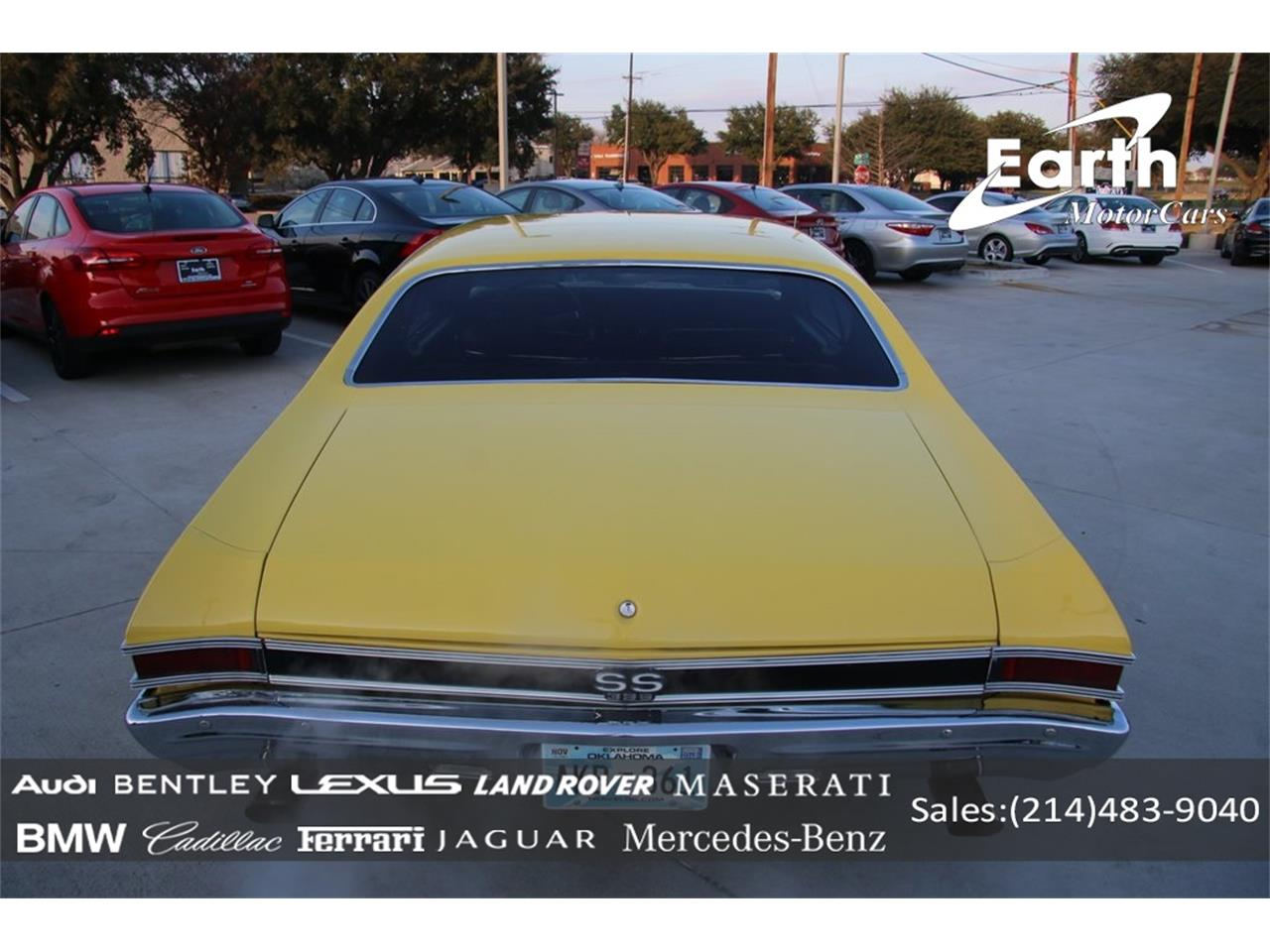 Large Picture of Classic '68 Chevelle SS located in Texas - $57,990.00 Offered by Earth Motorcars - PO89