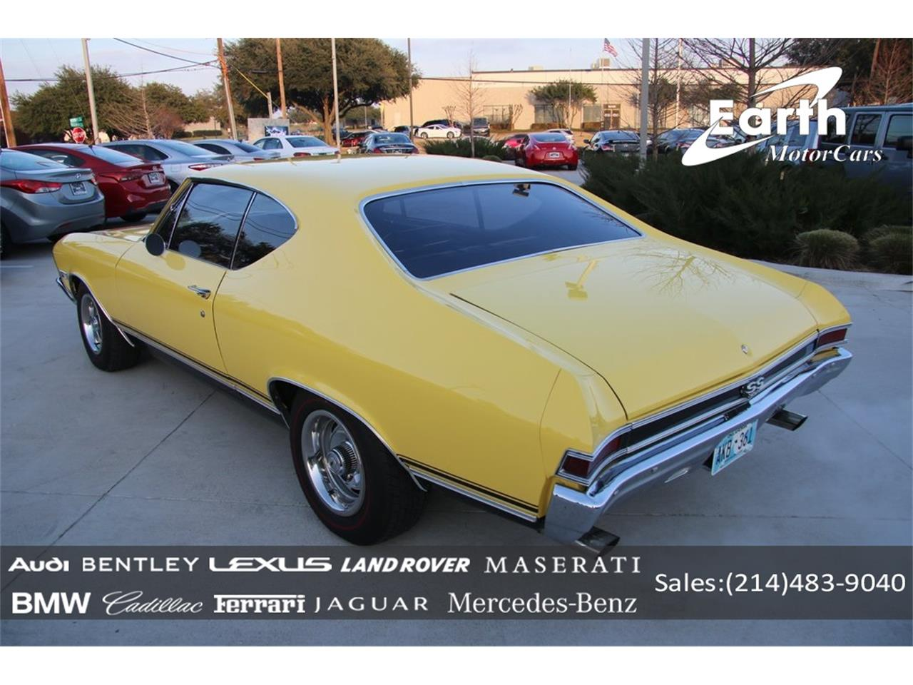 Large Picture of Classic 1968 Chevelle SS - $57,990.00 Offered by Earth Motorcars - PO89