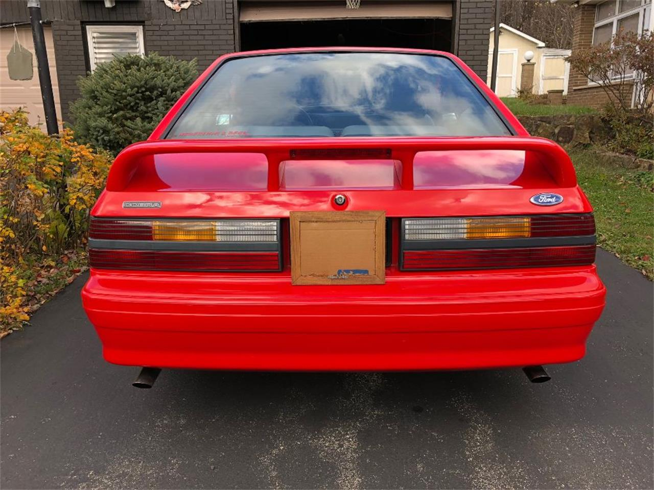 Large Picture of '93 Ford Mustang Cobra located in Latrobe Pennsylvania - POA0