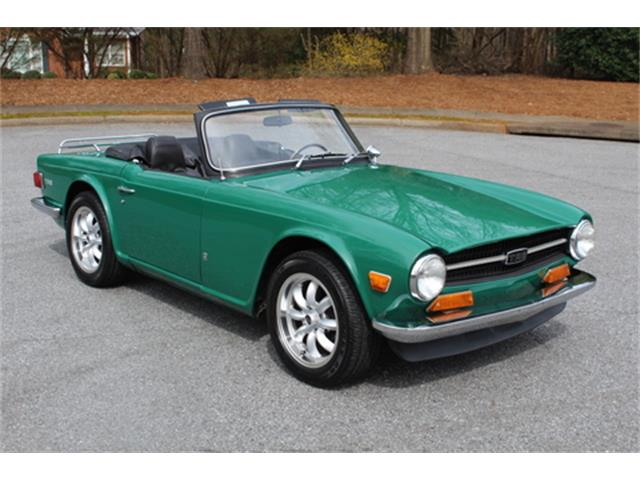 Picture of '72 TR6 - PITX