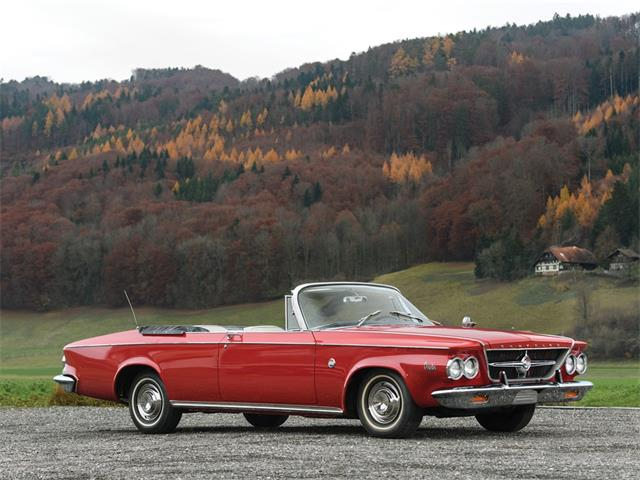1963 Chrysler 300 Sport Series Convertible Coupe