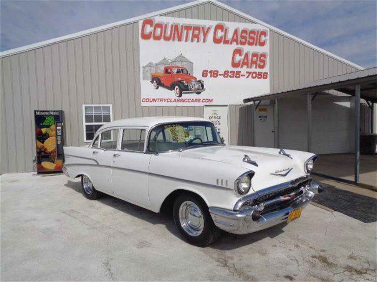 Large Picture of '57 Automobile located in Illinois - $17,950.00 Offered by Country Classic Cars - POM8