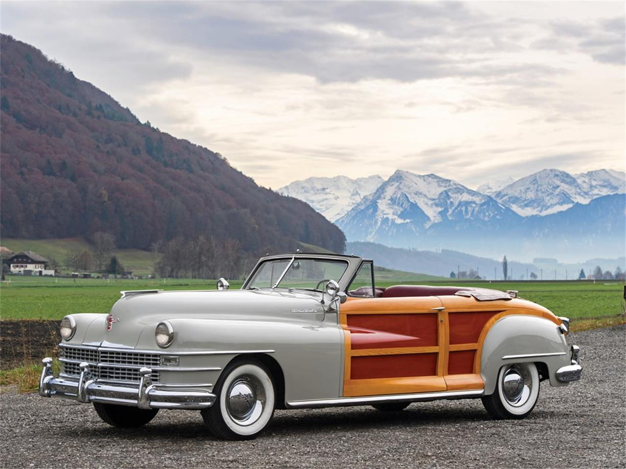 1947 Chrysler Town And Country Convertible For Sale Classiccars