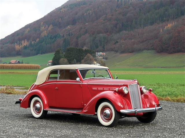 Picture of Classic '37 Packard Six Cabriolet Auction Vehicle Offered by  - PIUS