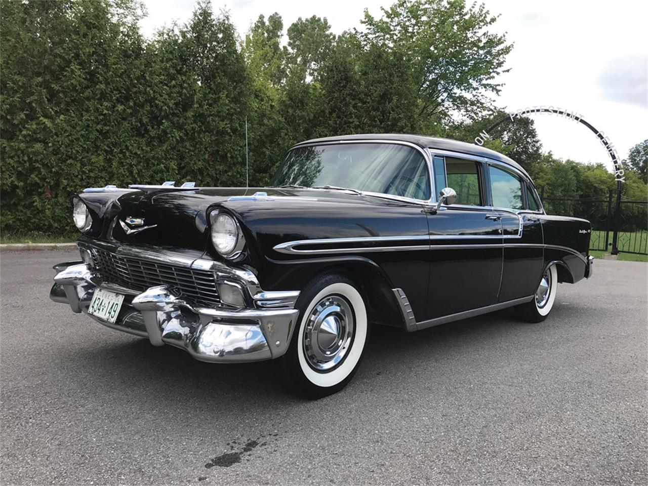 Large Picture of '56 Bel Air Four-Door Sedan - PIVP