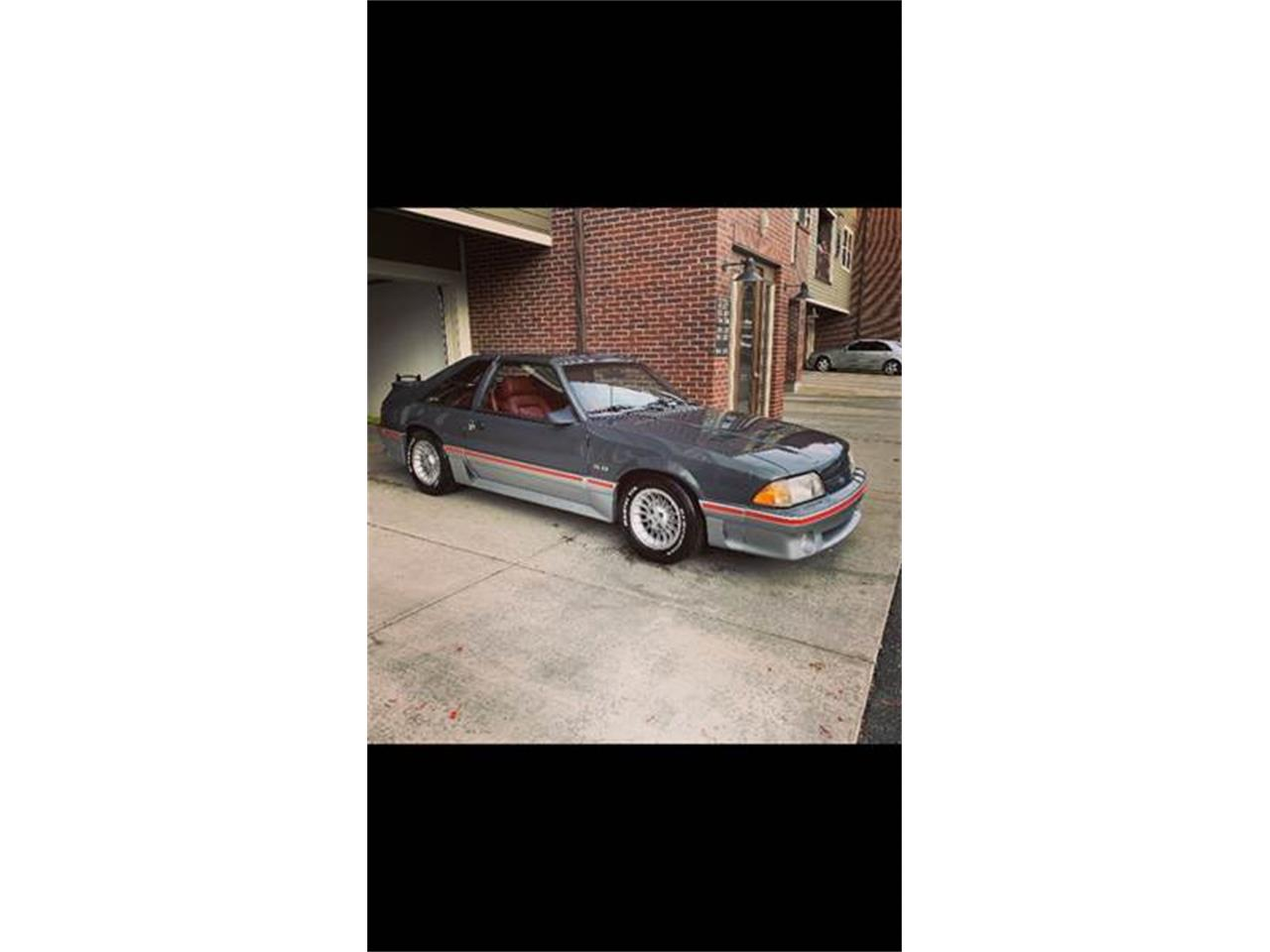 Large Picture of '87 Mustang - POXE