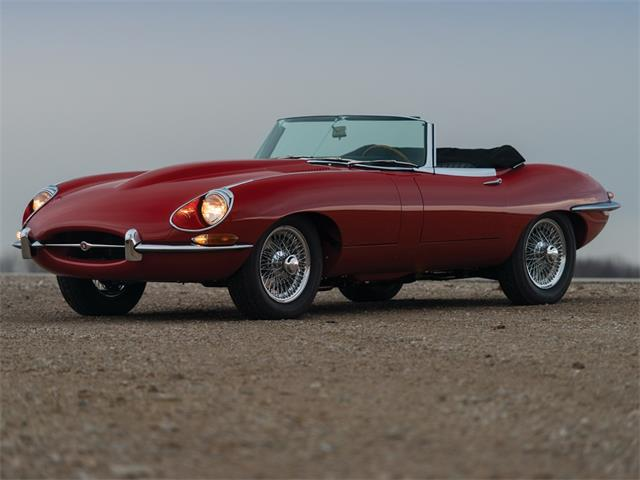Picture of Classic '68 Jaguar E-Type Series 1½ 42-Litre Roadster Auction Vehicle Offered by  - PIVU