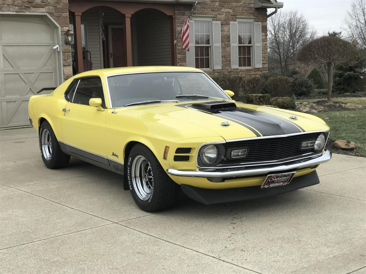 Large Picture of '70 Mustang Mach 1 - PIA0