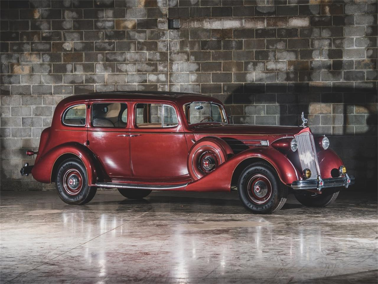 Large Picture of Classic '37 Packard Twelve located in St Louis Missouri Auction Vehicle - PP9Y