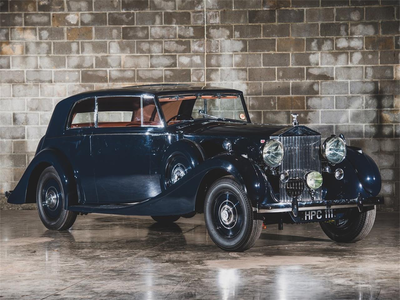 Large Picture of 1938 Rolls-Royce Phantom III Auction Vehicle - PPA4
