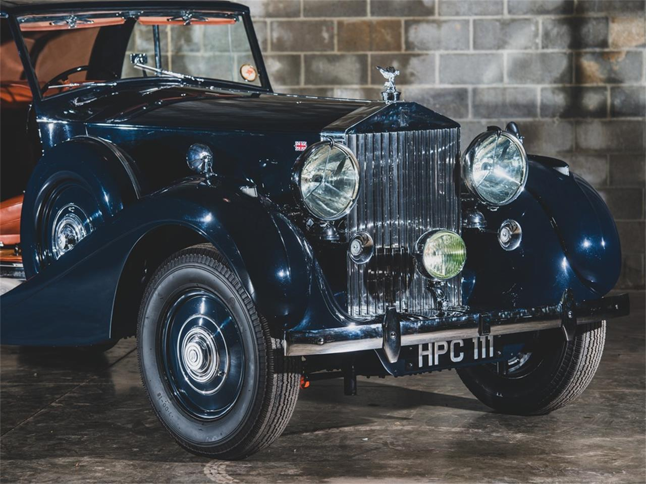 Large Picture of Classic 1938 Rolls-Royce Phantom III Auction Vehicle Offered by RM Sotheby's - PPA4