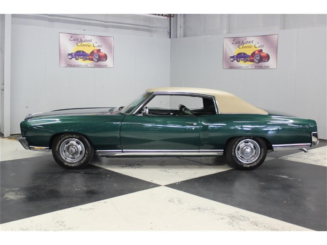 Large Picture of Classic 1970 Monte Carlo located in North Carolina Offered by East Coast Classic Cars - PPCA