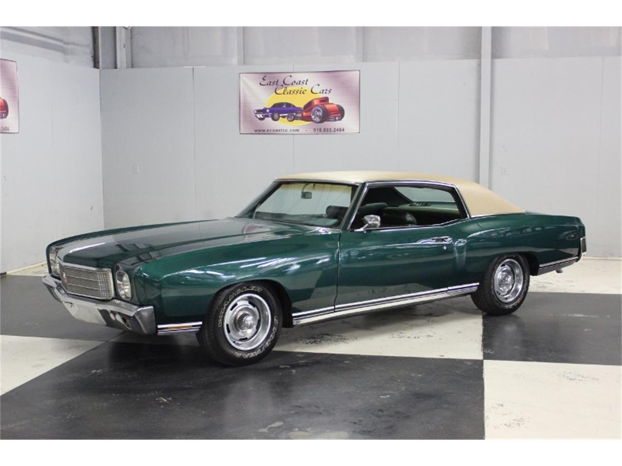 Large Picture of Classic '70 Chevrolet Monte Carlo located in North Carolina - $15,000.00 Offered by East Coast Classic Cars - PPCA