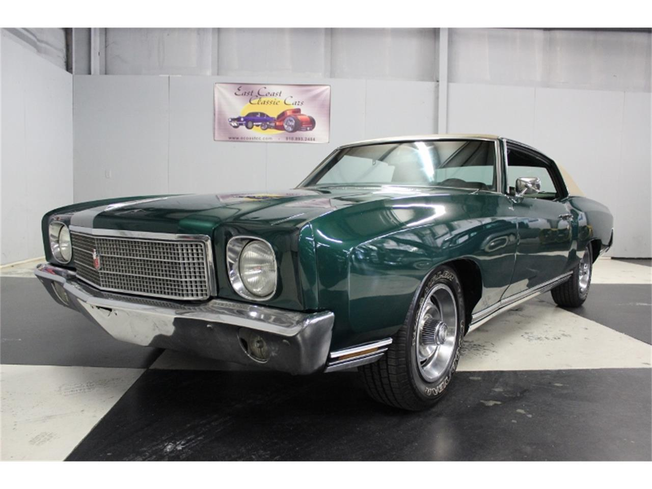 Large Picture of Classic '70 Monte Carlo - $15,000.00 Offered by East Coast Classic Cars - PPCA