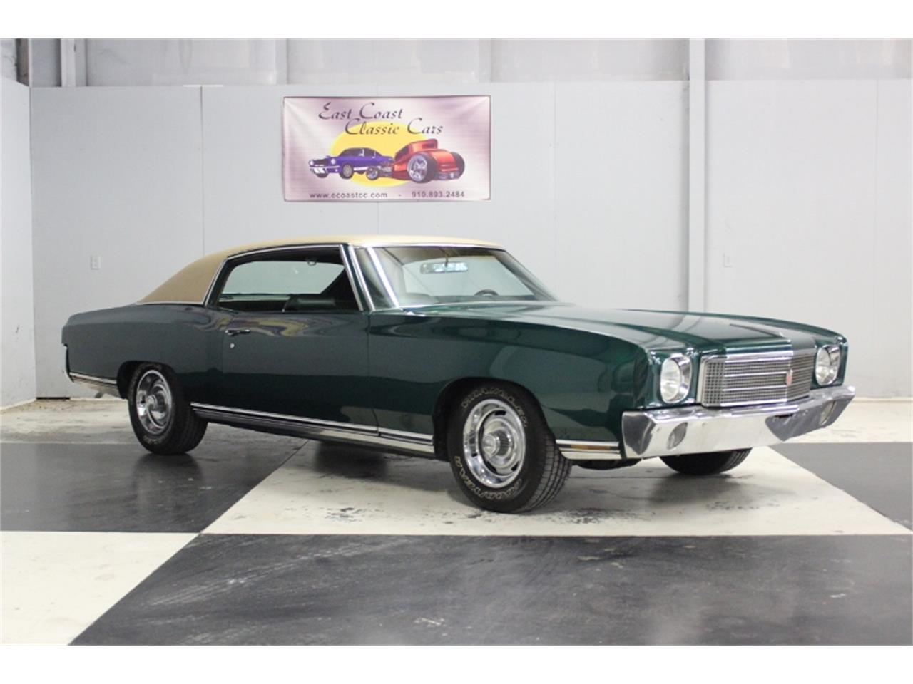 Large Picture of '70 Chevrolet Monte Carlo - $15,000.00 Offered by East Coast Classic Cars - PPCA