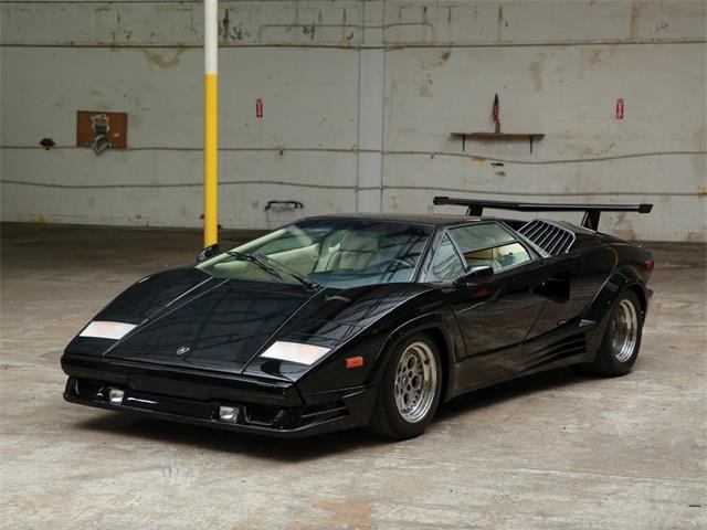 Picture of 1989 Lamborghini Countach 25th Anniversary Auction Vehicle Offered by  - PIX9