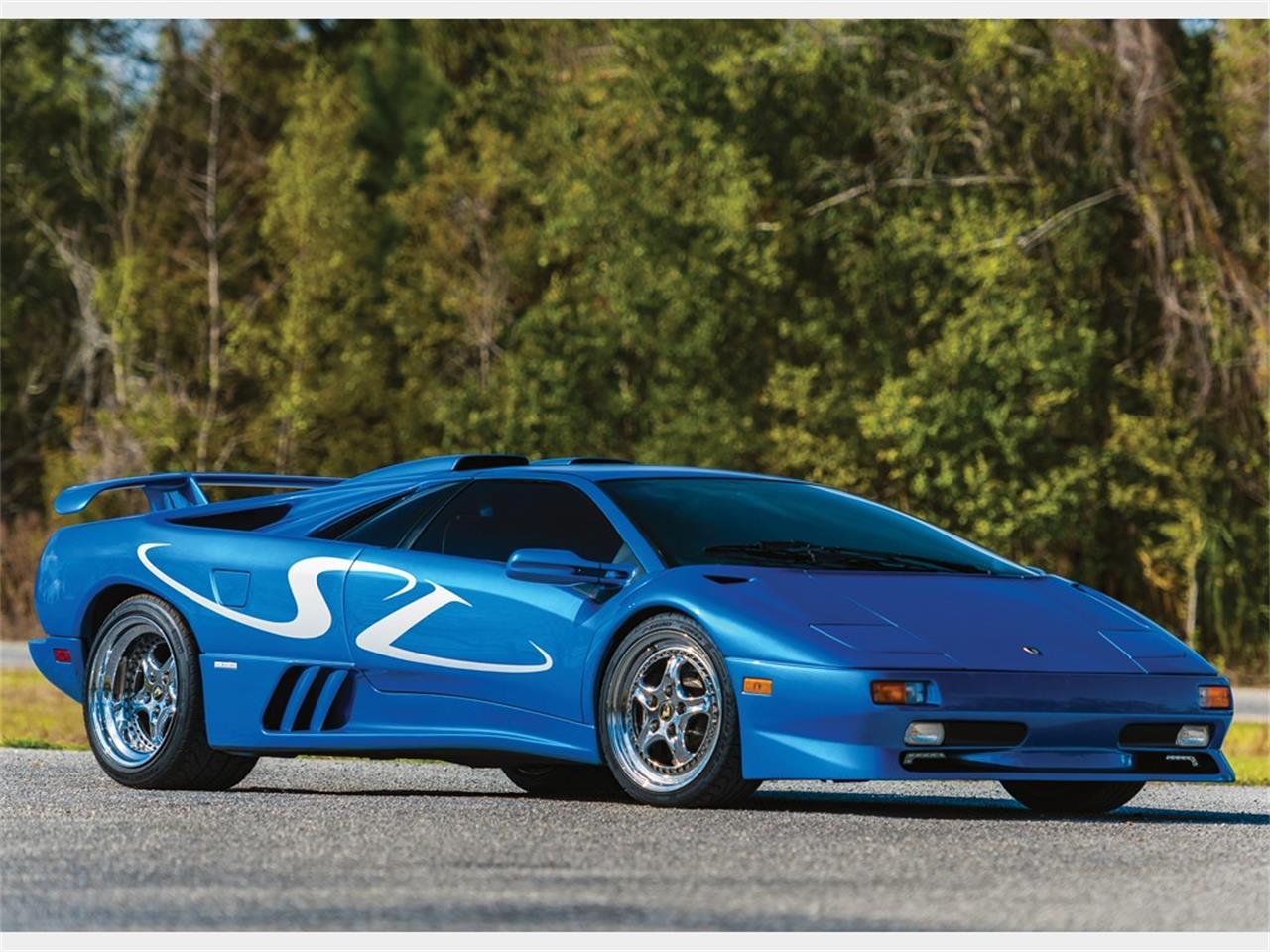 1998 Lamborghini Diablo Sv Monterey Edition For Sale Classiccars