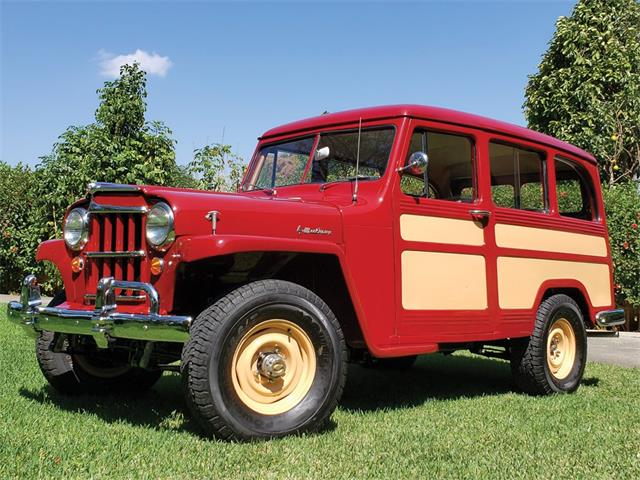 Picture of 1955 Willys 4-Wheel-Drive Station Wagon located in Fort Lauderdale Florida - PIXL
