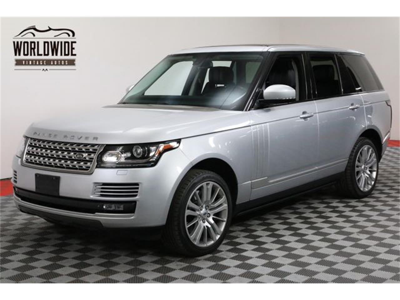Land Rover Denver >> For Sale 2014 Land Rover Range Rover In Denver Colorado