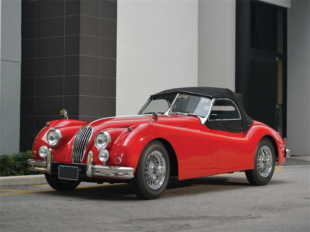 1955 Jaguar Xk 140 Mc Roadster For Sale Classiccars Com Cc 1190941