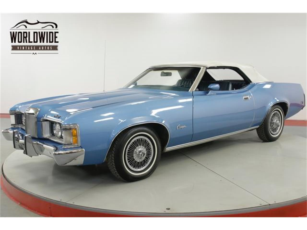 Large Picture of Classic 1973 Mercury Cougar located in Colorado - $13,900.00 Offered by Worldwide Vintage Autos - PPHY