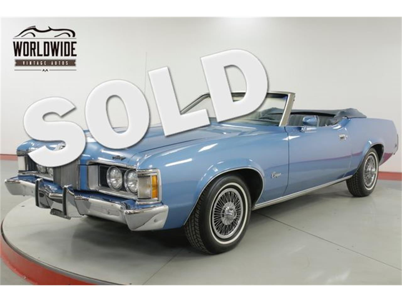Large Picture of Classic 1973 Mercury Cougar located in Colorado - $13,900.00 - PPHY