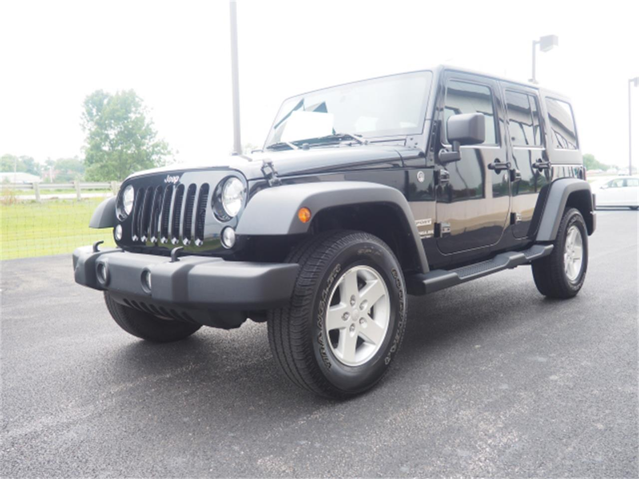 Large Picture of '15 Jeep Wrangler located in Marysville Ohio - $27,999.00 - PPKT