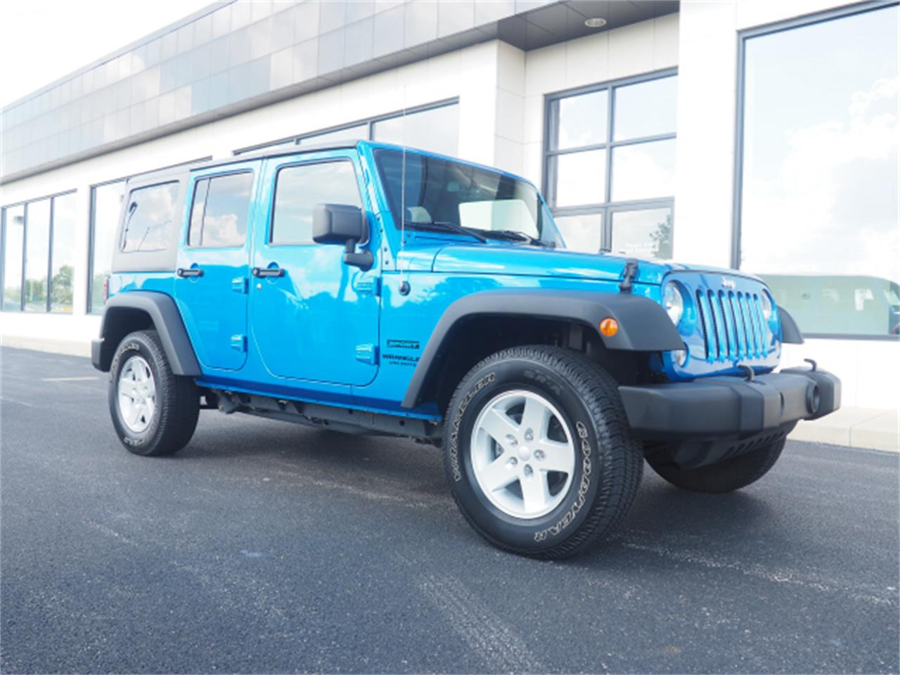 Large Picture of 2015 Wrangler located in Marysville Ohio - $27,999.00 - PPKW