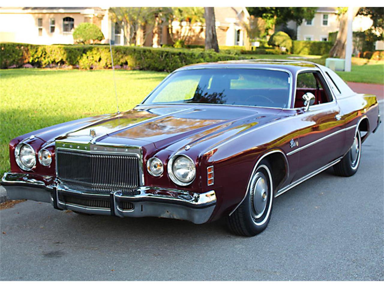 For Sale: 1976 Chrysler Cordoba in Lakeland, Florida on