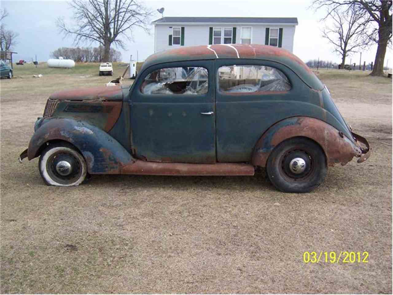 Large Picture of 1937 Tudor located in Parkers Prairie Minnesota - $3,000.00 Offered by Dan's Old Cars - 2L48