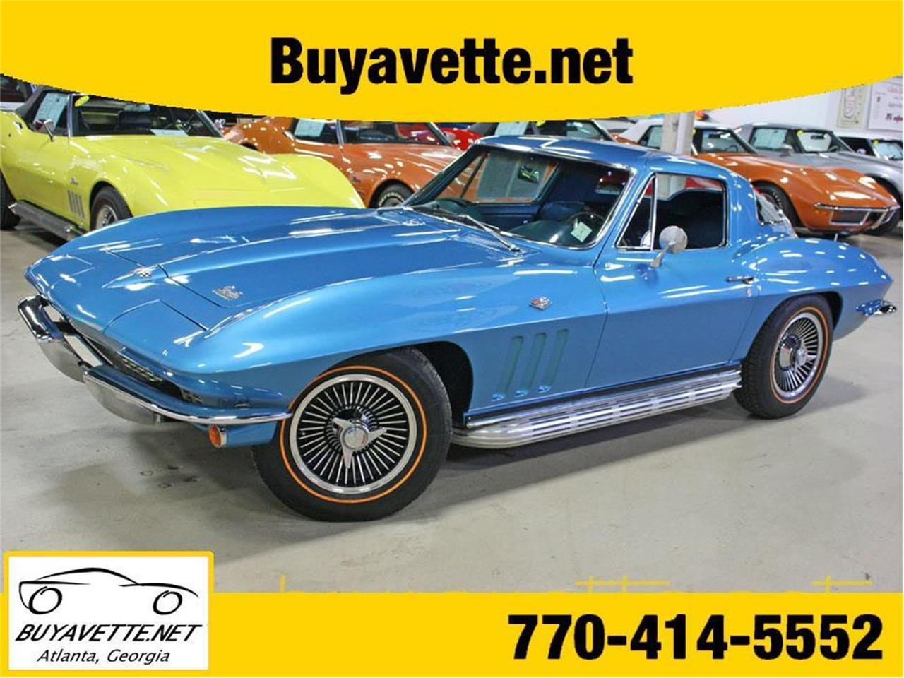 For Sale 1966 Chevrolet Corvette In Atlanta Georgia