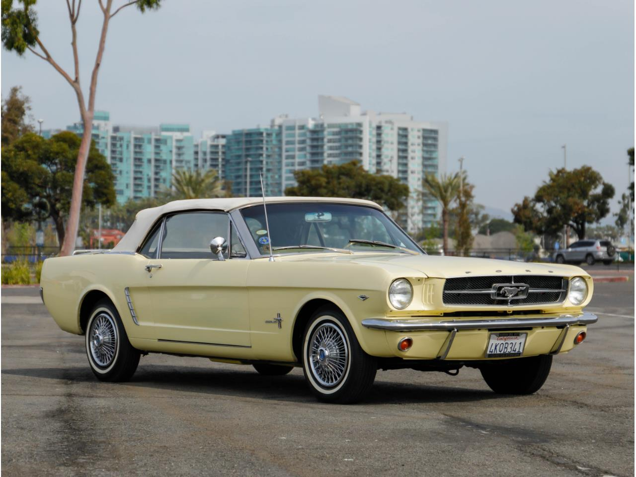 Large Picture of Classic '65 Mustang located in Marina Del Rey California - $38,500.00 Offered by Chequered Flag International - PR18