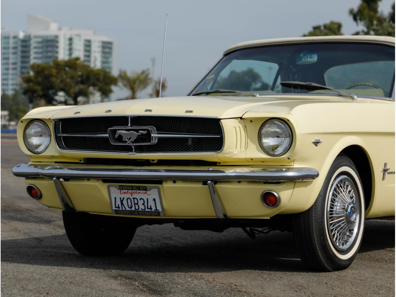 Large Picture of Classic 1965 Mustang located in Marina Del Rey California Offered by Chequered Flag International - PR18