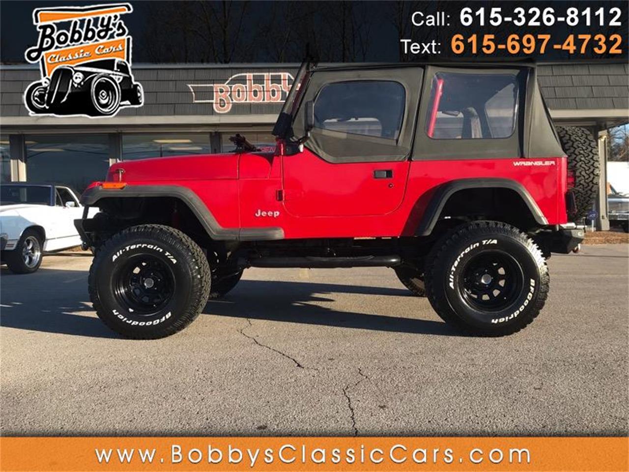 0c3af764 1994 Jeep Wrangler for Sale | ClassicCars.com | CC-1201956