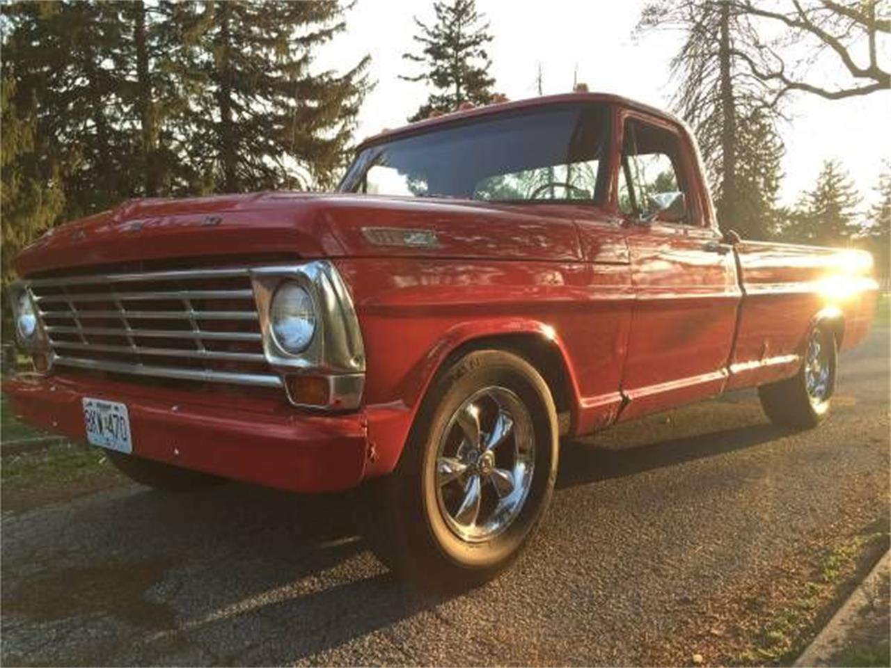 Large Picture of '67 F100 - PQ3N