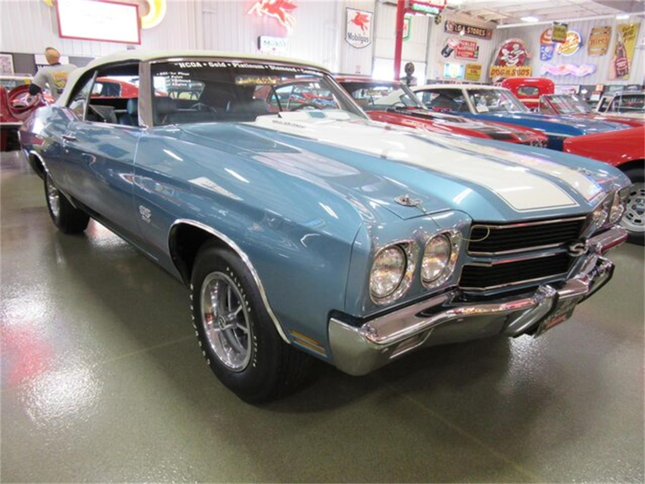 Large Picture of '70 Chevelle SS located in Indiana Offered by Ray Skillman Classic Cars - PRQB